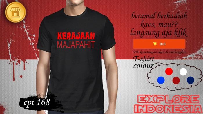 Foto Produk Kaos desain TRAVELLER kerajaan majapahit EPI 168 dari explore indonesia