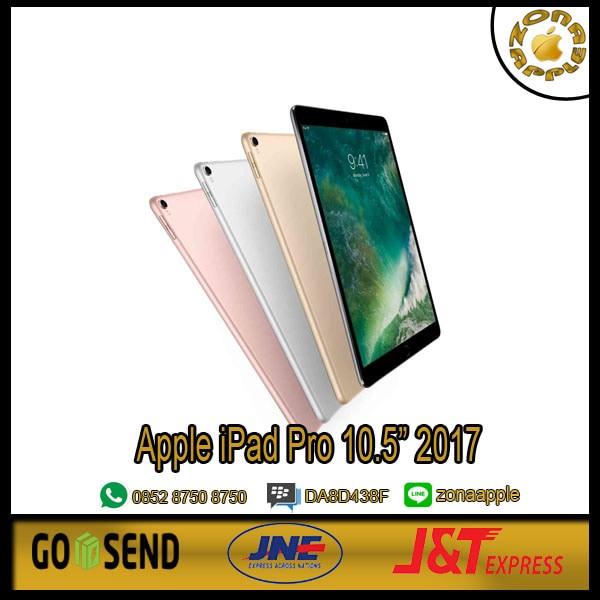 harga Ipad pro 10.5 apple wifi cellular 256gb space grey garansi apple 1thn Tokopedia.com
