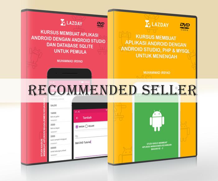 Foto Produk 2 DVD Tutorial Pembuatan Aplikasi Android - Paket 2 dari Lazday Indonesia