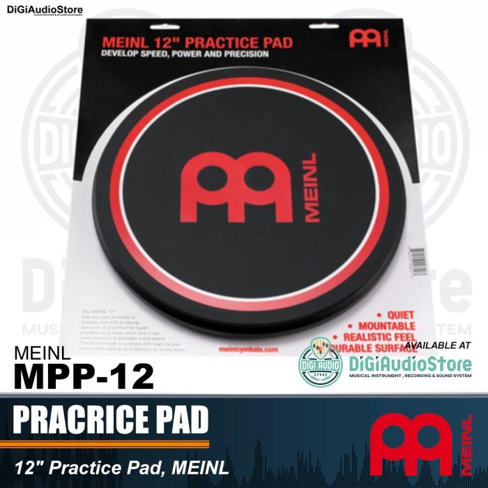 harga Meinl mpp 12 inch masterpad meinl logo practice pad / drum pad latihan Tokopedia.com