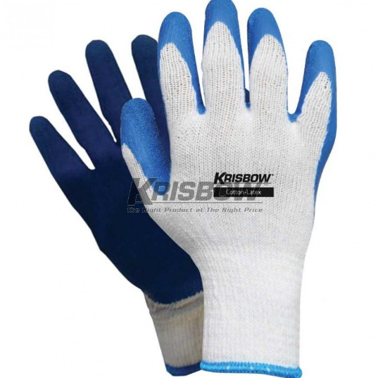 harga Krisbow glove cotton latex / sarung tangan kerja safety Tokopedia.com