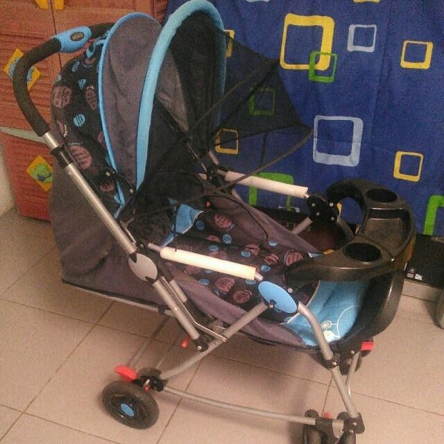 Harga Stroller Pliko Grande Bekas - Stroller