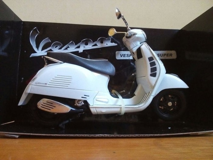 Jual Diecast Miniatur Motor Vespa Gts 300 Super Harga Murah Antik