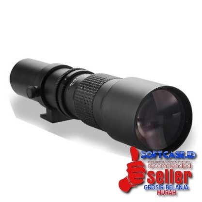 harga Lensa kamera telephoto manual 500mm f/8-32 t-mount Tokopedia.com