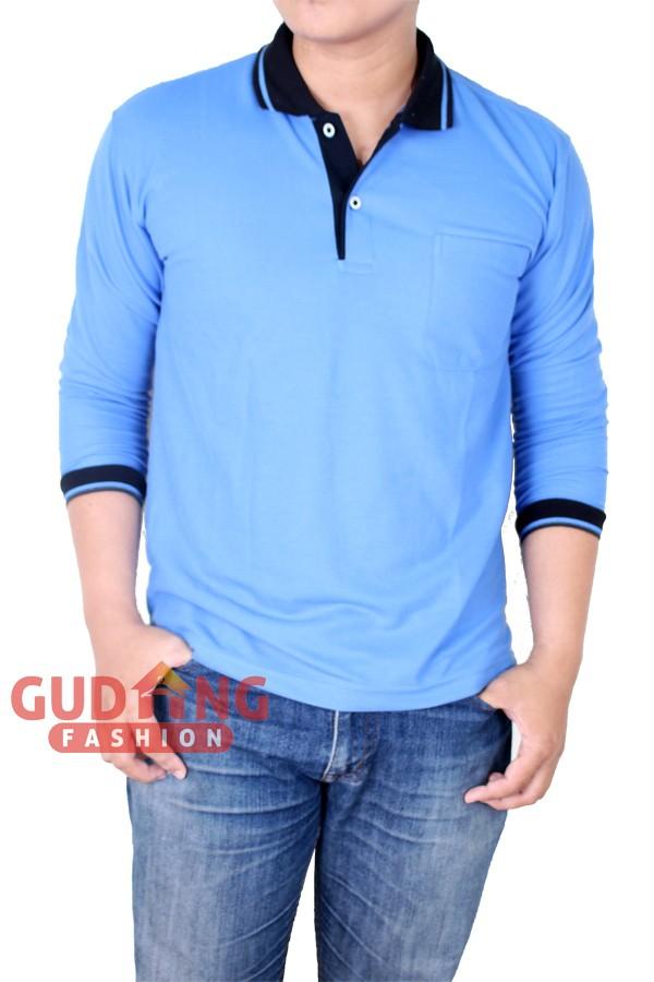 Atasan Casual Polo Shirt Pria PLS 190