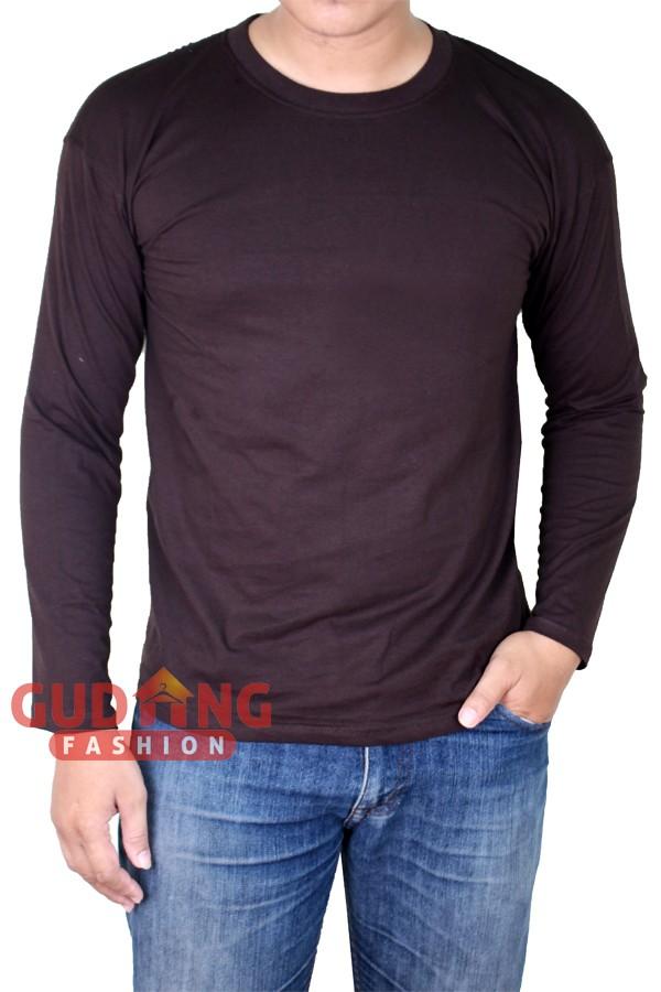Atasan Kasual Tshirt Lengan Panjang Pria PLS 186