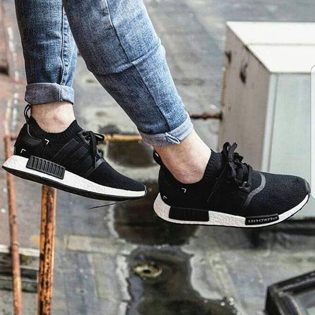 c24220103 ... harga Adidas nmd r1 japan black white premium original   sepatu fitness  Tokopedia.com