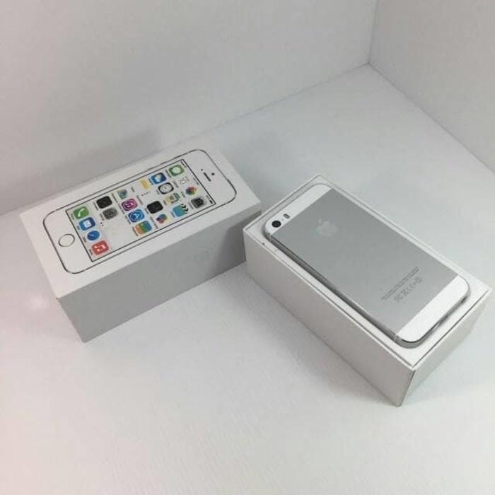 Jual Termurah Hp Handphone Iphone 5s Silver 16gb Second Original