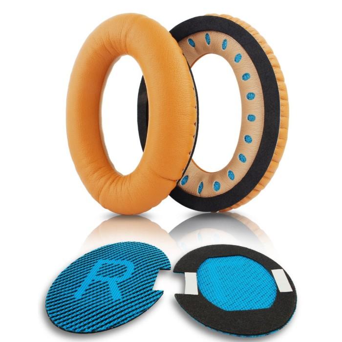 harga V-tech bose quietcomfort 15 qc2 qc15 ae2 headphone cushion brown Tokopedia.com