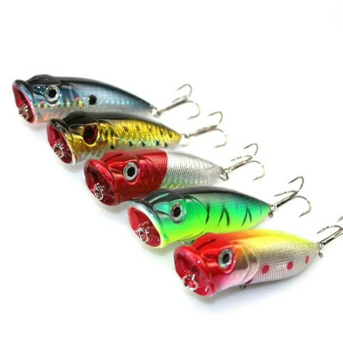harga Umpan Pancing Ikan Predator Popper Fishing Lure Bunyi Tokopedia.com