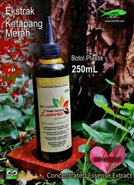 Foto Produk Ekstrak Daun ketapang Merah 250mL Indian Almond Premium Quality dari Art295 Tropical fish
