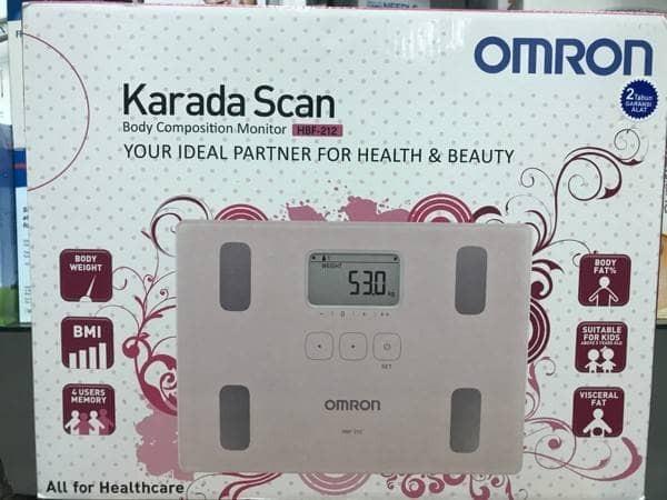 harga Omron karada scan / body fat monitor hbf 212 Tokopedia.com