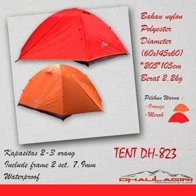 harga Tenda dhaulagiri isi 2 3 orang bukan lafuma rei eiger consina Tokopedia.com