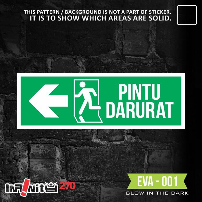 Jual Eva001 Ac Rambu K3 Akrilik Safety Sign Pintu Darurat Apar Kebakaran Kota Bekasi Infinity270 Tokopedia