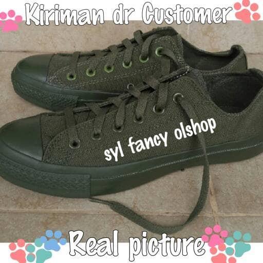 harga Sepatu converse sneakers all star ct ii ox full color army original Tokopedia.com