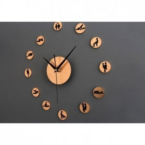 Jual DIY Giant Wall Clock 30 60cm Diameter ELET00664   Jam Dinding ... 7a00ff8eb5
