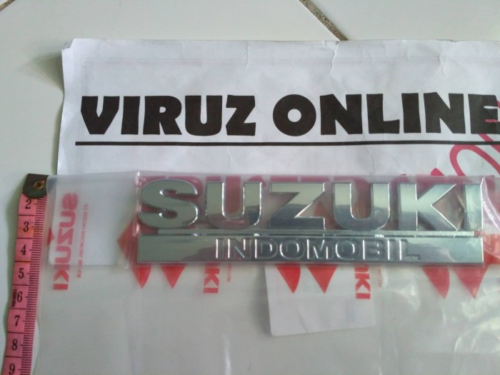 harga Emblem suzuki karimun wagon r (original suzuki) Tokopedia.com