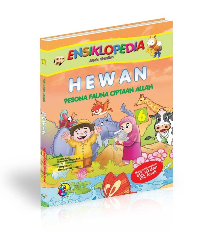 harga Buku ensiklopedia anak muslim 6 - hewan pesona fauna ciptaan allah Tokopedia.com