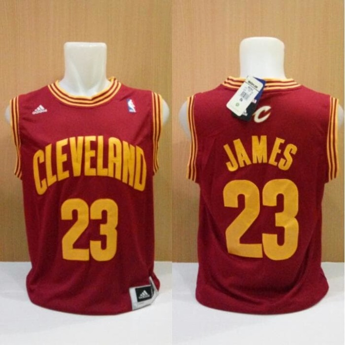 huge discount 22afd 22c15 Jual Jersey Basket Swingman NBA Cleveland Cavaliers Lebron James Maroon -  Kota Batam - AJ Basketball Store | Tokopedia