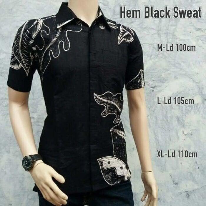 harga Kemeja batik pria lengan pendek h12 Tokopedia.com