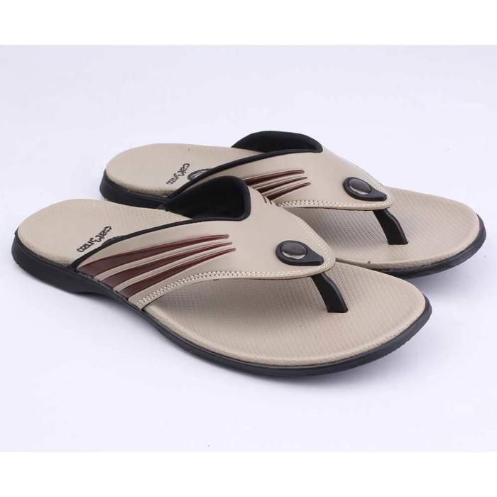 harga Sandal sendal jepit pria cowok cowo casual kulit sintetis yy 015 cz Tokopedia.com