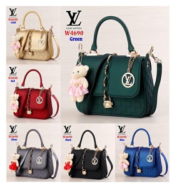 Jual Bag LV 4690(Bahan Jelly)  49716e22a5