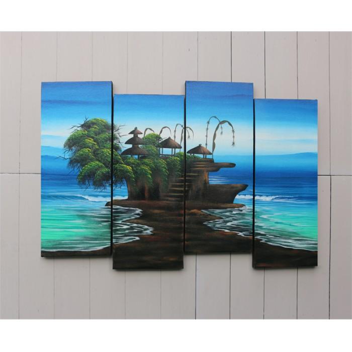 harga Lukisan Pemandangan Tanah Lot - Kaiz 3 Tokopedia.com