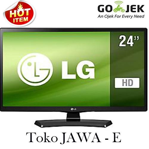 Led Tv Lg + Monitor 24 Inch 24mt48af New USB MOVIE