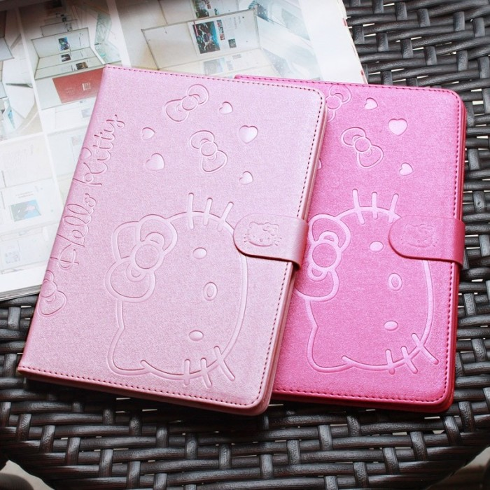harga Ipad mini 4 hello kitty leather flip smart cover casing case autolock Tokopedia.com