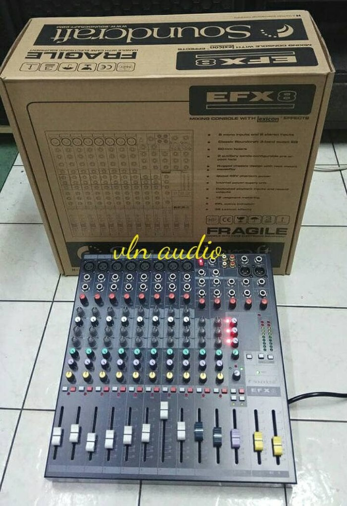harga Mixer soundcraft efx 8 ch Tokopedia.com
