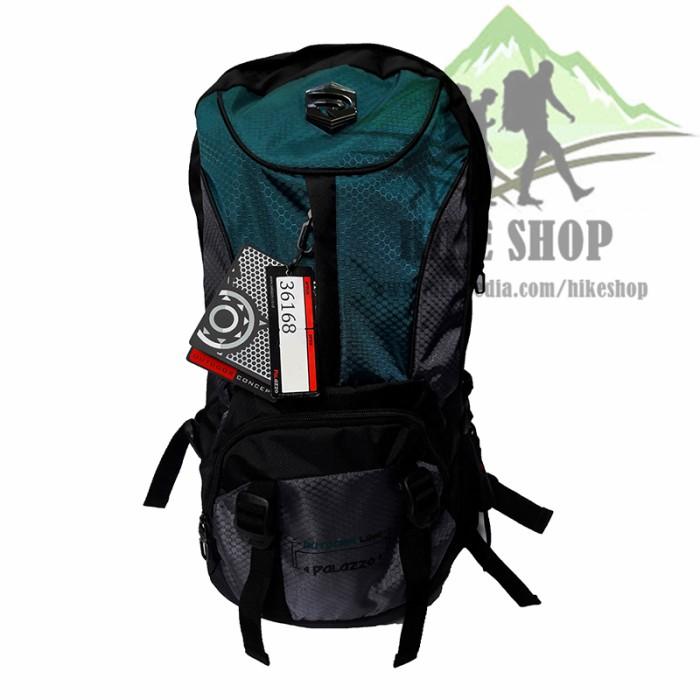Tas Ransel Gunung Hiking Carrier Outdoor - Tas Palazzo 36168 Green 50l 1b546d3980