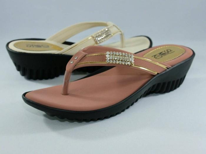 harga Sandal jepit casual high heels wedges formal wanita sumiko an 171-2 Tokopedia.com