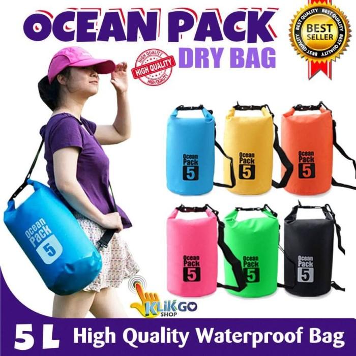 TAS ANTI AIR / DRY BAG OCEAN PACK 5 LITER /WATERPROOF BAG HIGH QUALITY