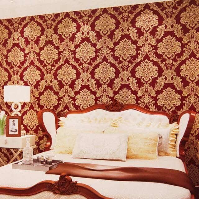 Jual Wallpaper Dinding Kamar Tidur Wallpaler Classic Kab Bekasi Alexanderwallpaper Tokopedia