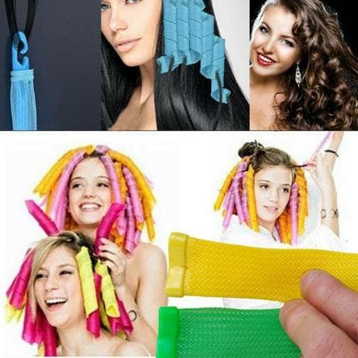 Magic leverage/ alat curly rambut/ salon rumah/ tata rambut