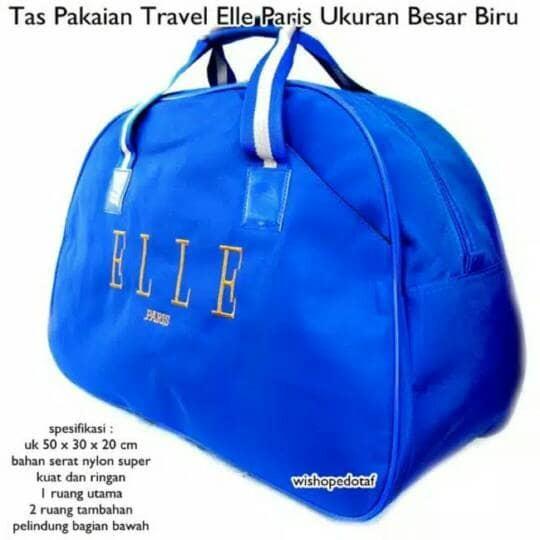 Jual Produk dan Promo Tas Travel Elle Biru Terbaik dengan Harga ... 1d34522ca5