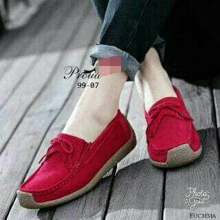 harga Flat shoes merah ys 18 Tokopedia.com