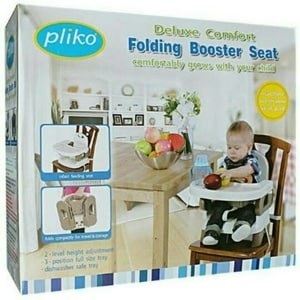 harga (baby club itc bsd) pliko folding booster seat (kursi makan bayi) Tokopedia.com