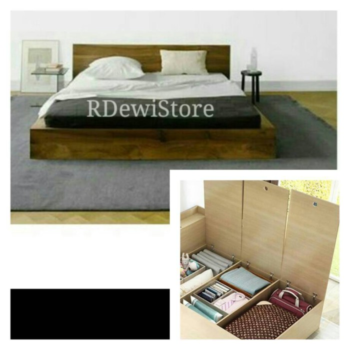 harga Tempat tidur, dipan, ranjang minimalis kayu jati custom penyimpanan Tokopedia.com