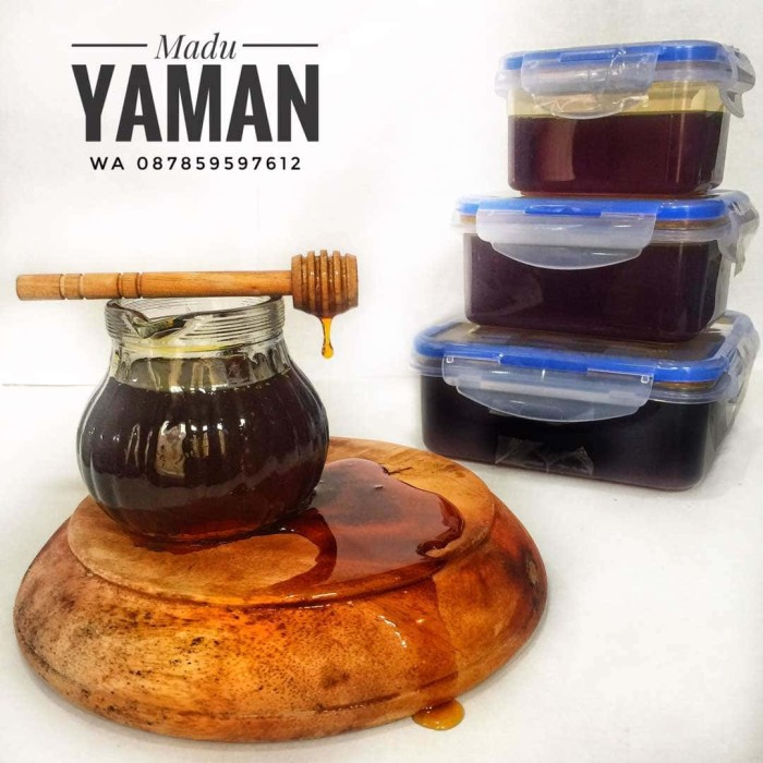 harga Madu yaman marba'i 1/2 kg Tokopedia.com