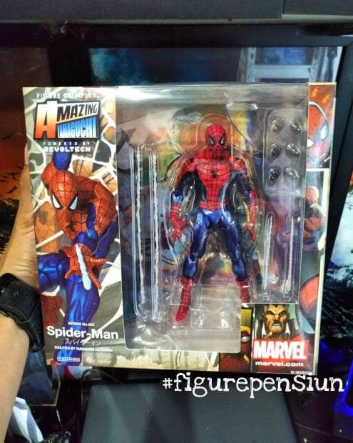 harga Revoltech spiderman the movie marvel figure Tokopedia.com