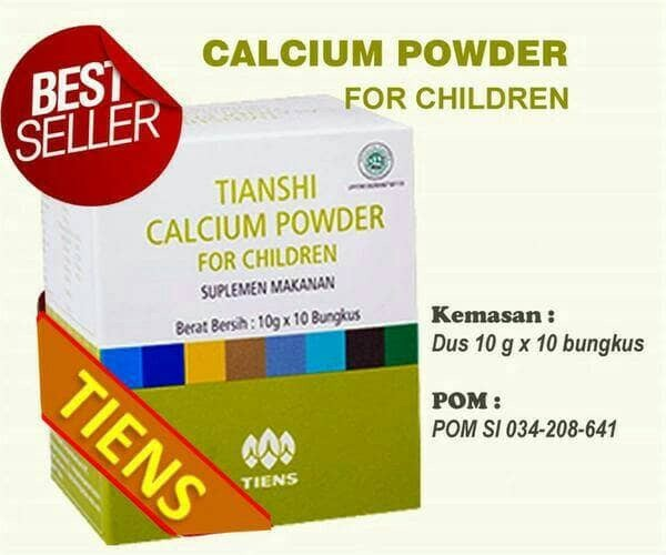 harga Calsium children powder tiens Tokopedia.com