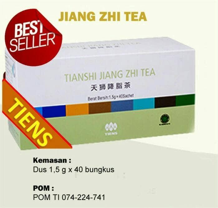 harga Paket pelangsing jiang zhi tea 2box isi 80sachet|ziang zhi tea Tokopedia.com
