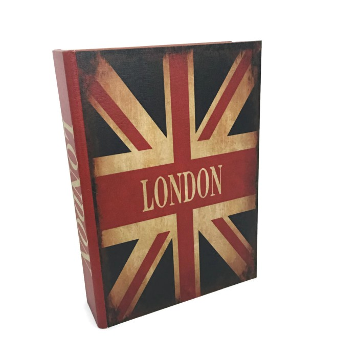 harga Brankas buku antik jadul kuno - large size - england flag Tokopedia.com