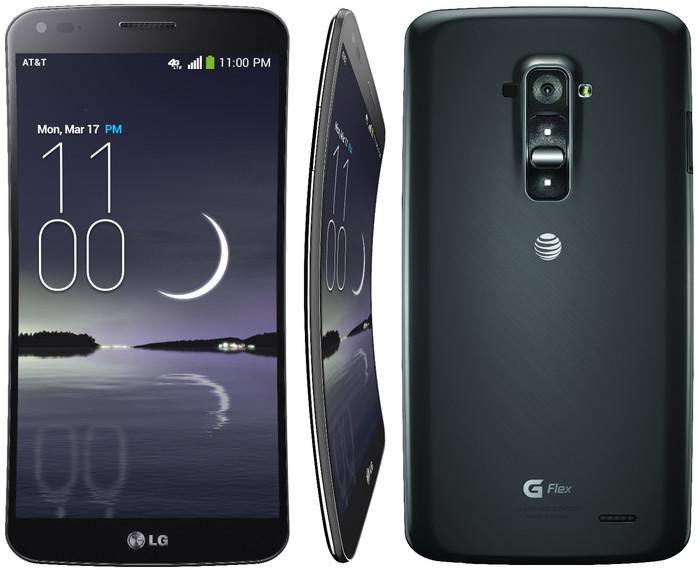 Lg g flex - 32gb - garansi resmi