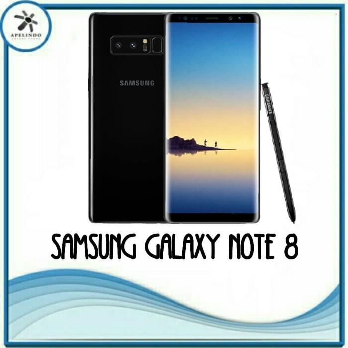 harga Samsung galaxy note 8 new original midnight black bnib Tokopedia.com
