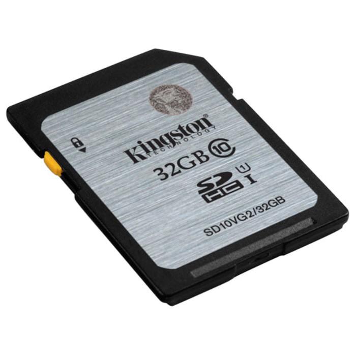 harga Memory card sd card kingston 32gb class 10 sdhc speed 80 mb/s sd10vg2 Tokopedia.com