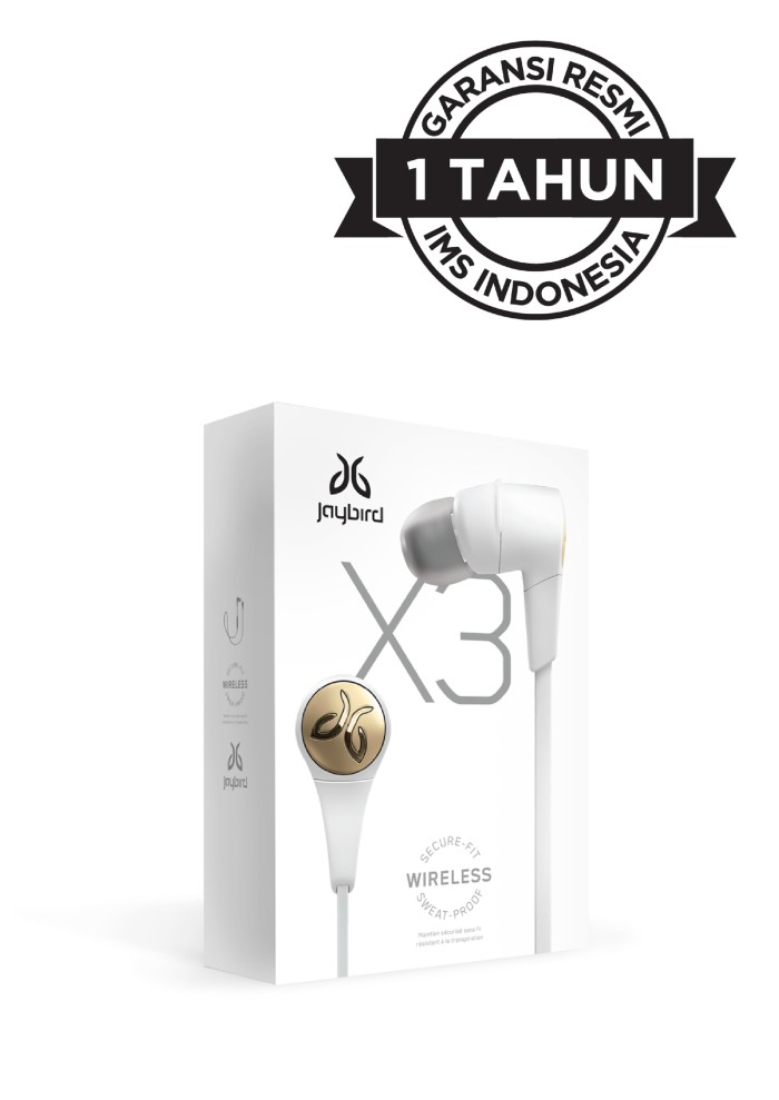 harga Jaybird X3 Wireless Sport Earphone - Sparta Blanja.com