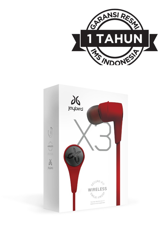Jaybird x3 wireless sport earphone - roadrash