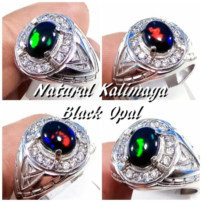 harga Cincin batu akik permata natural kalimaya kristal ring alpaka Tokopedia.com